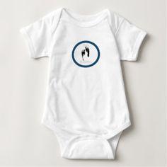 HAMbWG - Baby HAMbWG w Footprints Baby Bodysuit