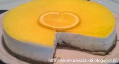 @rokkaavakokki: Valkosuklaa-appelsiini-juustokakku