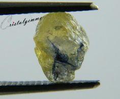Cristal bicolore de saphir