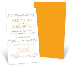 Wedding Menu Website Sweetly Scripted -- Vintage Poster Wedding Invitations