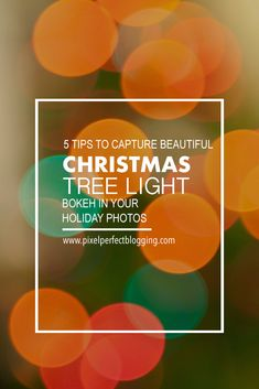 5 Tips to Capture Beautiful Christmas Tree Light Bokeh in Your Holiday Photos - Christmas photography Double Exposure Photography, Levitation Photography, Water Photography, Iphone Photography, Abstract Photography, Photography Tips For Beginners, Photography Tutorials, Photography Hacks, Holiday Photos