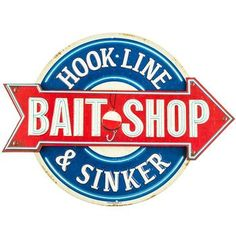 Fishing Sign Nautical Decor Hook Line and Sinker Bait Sho... https://www.amazon.com/dp/B01B5RELII/ref=cm_sw_r_pi_dp_75zHxb6JKGNTV