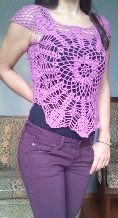 crochet top(