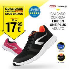 0057aae29790c Calçado corrida mulher run one plus preto coral kalenji