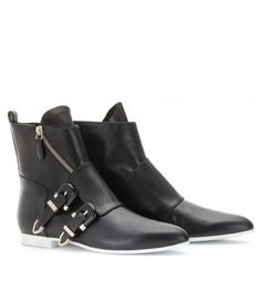Balenciaga DOUBLE STRAP ANKLE BOOTS for Sale