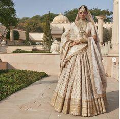 Sabyasachi Sabyasachi is a masculine Indian given name. Indian Bridal Outfits, Indian Bridal Wear, Indian Designer Outfits, Bridal Dresses, Indian Wear, Indian Style, Indian Ethnic, Lehenga Designs, Anarkali