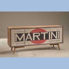Credenza vintage martini