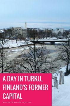 turku former capital of finland #turku #finland #guide