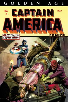 Golden Age Captain America Omnibus Cover - Lee Weeks