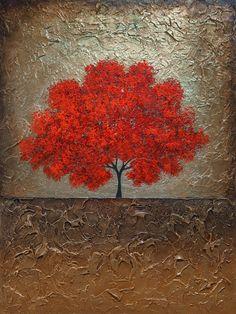 Bienvenido a nuestro estudio -------------------- ¡Pintado a mano moderna pintura abstracta Original por Gabriela y Catalin! ---------------------------------------------------------------------------- Título: Melodía de amor (oro) Tamaño: 40 x 30 Lona estirada, galería envuelto, 7/8