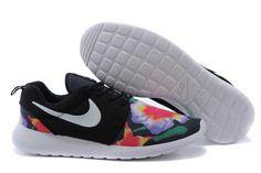 promo code c926f 71112 40 Off Custom Nike Roshe Dark Blue Run Athletic Women Shoes With... (