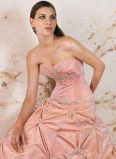 Peach sandy dress!