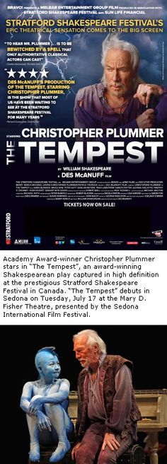 Shakespeare's 'The Tempest' debuts in HD on the big screen July 17