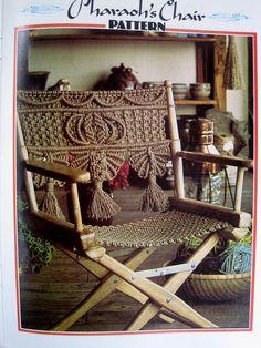 Macrame Knotting Patterns Macrame Furniture Pattern by WaveSong