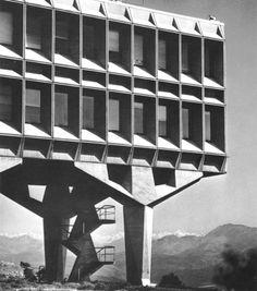 Marcel Breuer | IBM Research Center | La Gaude, Var, France | 1960-62