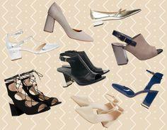 25854832 tendencias calzado de mujer · Zapatos de tacón finos y gruesos, los modelos  del 2016 Tacones Gruesos, Tacones Bajos