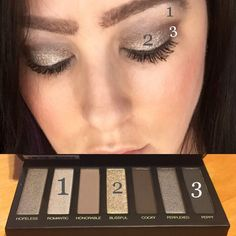 Get this look with Younique Addiction Shadow Palette 2. Click on the picture to order.