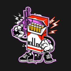 Cartoon Drawing Design Check out this awesome 'The Silent Killer Graphical Design' design on Graffiti Designs, Graffiti Art, Cartoon Kunst, Cartoon Art, Emoji Drawings, Character Art, Character Design, Acid Art, Graffiti Characters