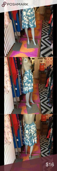 Minä Perhonen skirt Beautiful patterned skirt. Great condition Mina Perhonen Skirts Midi