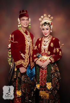 Javanesse Taditional Wedding Outfit