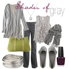 """""""Shades of Gray"""" by heismygod on Polyvore"""