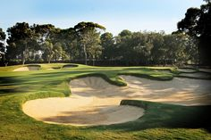MacKellar International Golf Design - Historic renovation on the Grange Golf Club - www.intl-golf-design.com