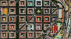 Puente de Vallecas, Madrid, España.Digital Globes