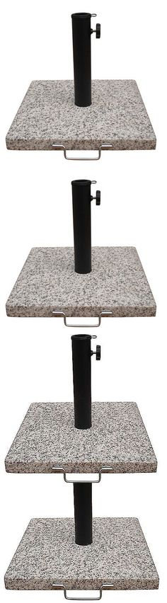 Umbrella Stands 180999: Garden Treasures Speckled Beige Granite Patio Umbrella Base Metal Holder Stand -> BUY IT NOW ONLY: $53.5 on eBay!