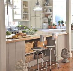 kitchen island with columns | KITCHEN DESIGN - 6 Fabulous Kitchen Island Ideas