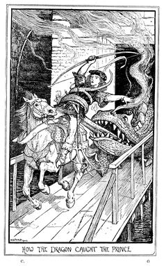 Henry Justice Ford - The crimson fairy book, edited by Andrew Lang, 1903 (illustration 4)