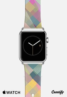 Colorful Squares Pattern III Apple Watch Band (38mm) case by Metron | Casetify