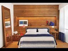 Resultado de imagem para quartos de casal estreitos e compridos
