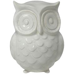 Garden Place Owl Statue ($40) ❤ liked on Polyvore