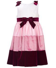 Rare Editions Kids Dress, Little Girl Colorblock Dress - Kids Dresses - Macy's
