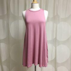 ❗️Clearance❗️Dusty Pink Tunic/Dress Super Cute, brand new tunic/dress. 95% Rayon 5 % Spandex Dresses