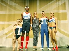 I really like Stella McCartney's new Olympic designs for Team GB!