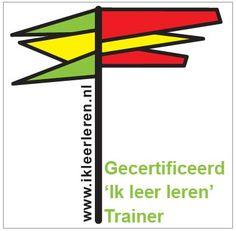 """Ontwerp Certificaat: trainingen """"Ik leer leren"""" Centrum Tea Adema"""