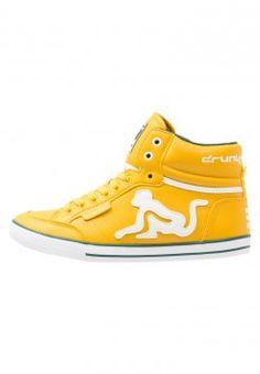 Drunknmunky - BOSTON CLASSIC - Sneaker high - mustard #Drunknmunky