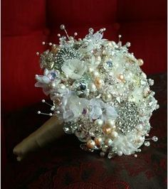 Another Brooch bouquet I love this one!
