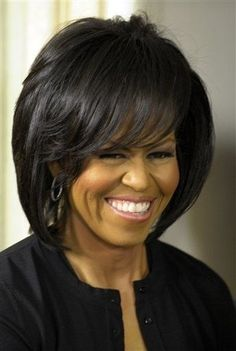 First Lady Michelle Obama- still trying to get up the nerve to go short for spring and summer!