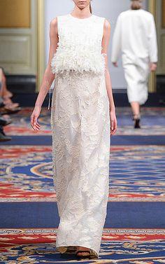 Ruban Russia Fall 2015 Fashion Show Daily Fashion, Love Fashion, Runway Fashion, Fashion Show, Fashion Design, Fashion 2018, Fashion Details, Beautiful Gowns, Beautiful Outfits