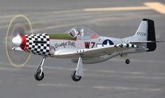 """FMS 800mm (31.5"""") P-51 Mustang Version 2 with Big Beautiful Doll Color Scheme - Receiver Ready - FMS016P-BBFeatures:  Detailed scale features including four blade propeller, hand painted pilot figure, and drop tanks Reinforced main landing gear and steerable tail gear Landing gear snaps on/off easily to convert plane from runway to belly lander Fuel tanks are attached to the wings with a slide mount system (no glue), so they can be easily attached/detracted Upgraded FMS proprietary servos…"""