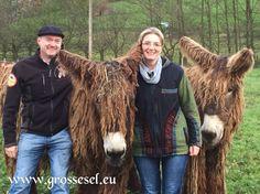 Angela und Frank  Baudet du Poitou