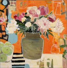 Mixed Media Artist Gabriela Ibarra  creates beautiful dimensional still lifes that have an innate energy and vitality that  just love.     ...