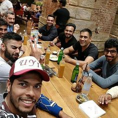 Team India 🇮🇳 enjoy dinner in London after a big win against New Zealand @InstantBollywood