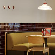 Canteen, Covent Garden. A restaurant going back to its british roots.
