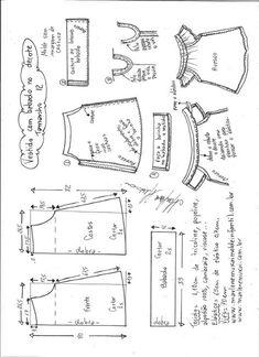 Dress diy shirt sewing tutorials 37 Best Ideas Source by Dresses Baby Girl Dress Patterns, Baby Clothes Patterns, Kids Patterns, Dress Sewing Patterns, Clothing Patterns, Sewing For Kids, Baby Sewing, Smocking Patterns, Diy Dress