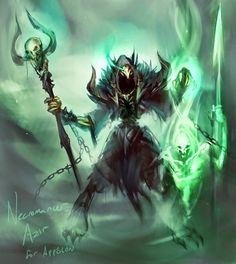 Necromancer Azir League of Legends LoL  gathered by http://how2win.pl