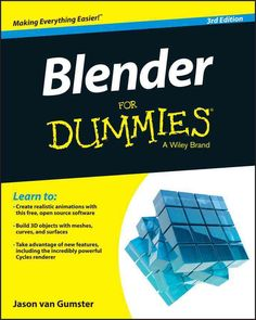 Learn 3D animation the easy way with this complete step-by-step guide Blender For Dummies is the quick and easy guide to learning 3D modeling animation using the popular, free, open-source Blender sof