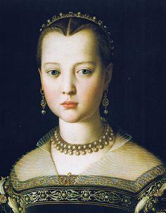 Bronzino - Portrait of Maria, daughter of Cosimo I de Medici (~1550)